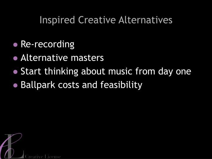 Inspired Creative Alternatives