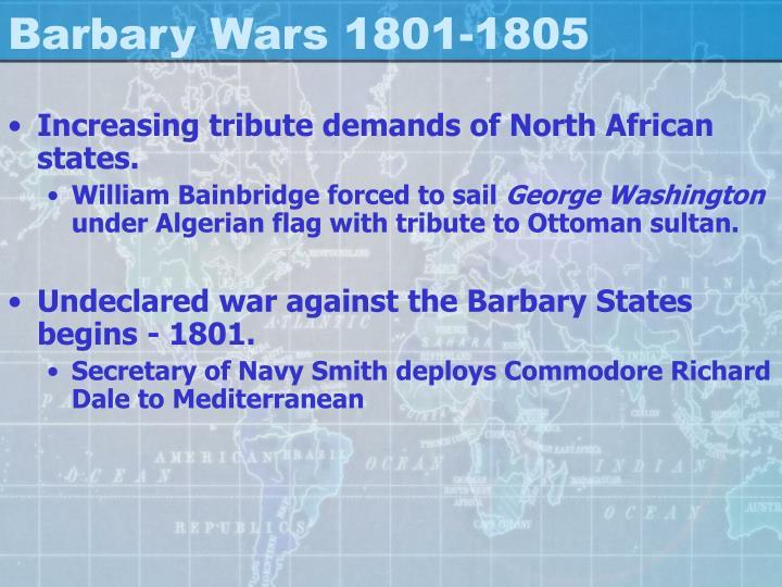 Barbary Wars 1801-1805