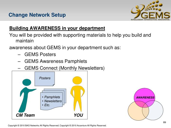 Change Network Setup