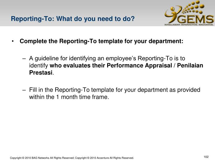 Reporting-To: What do you need to do?