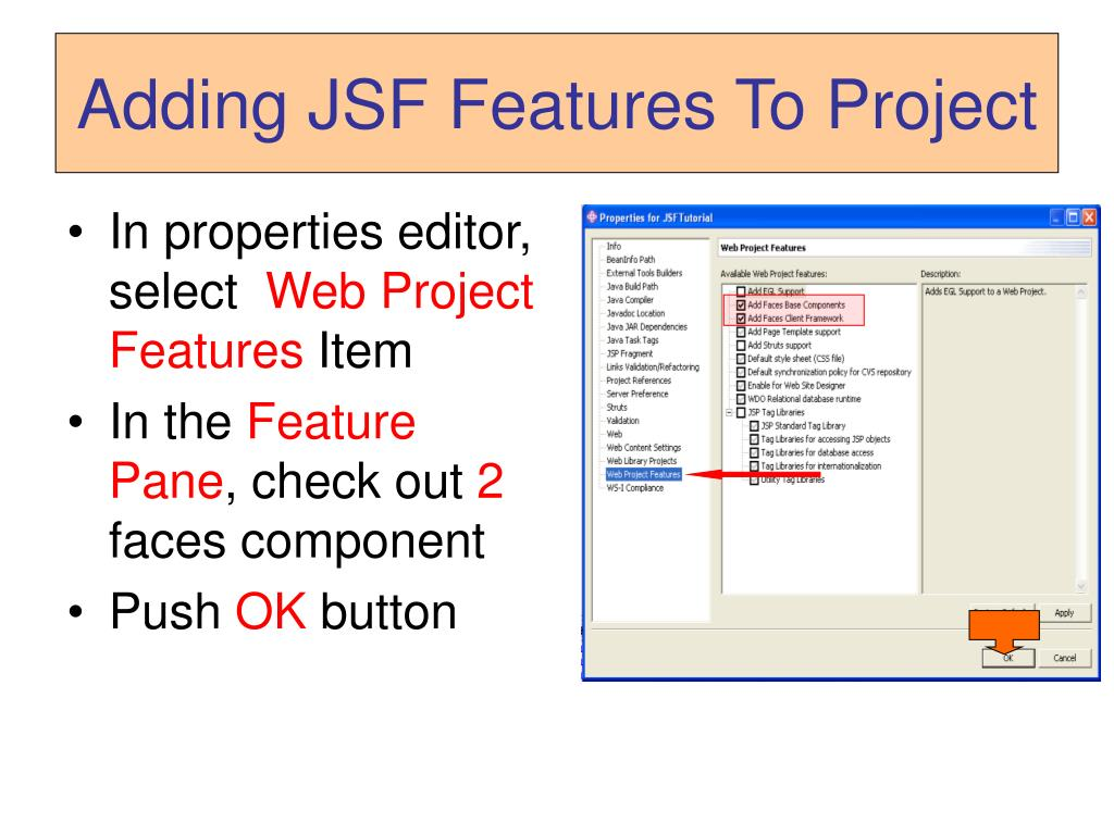 PPT - Developing JSF Project With WebSphere PowerPoint