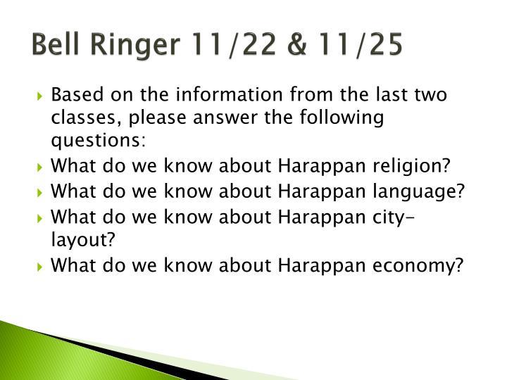 Bell Ringer 11/22 & 11/25