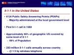 9 1 1 in the united states