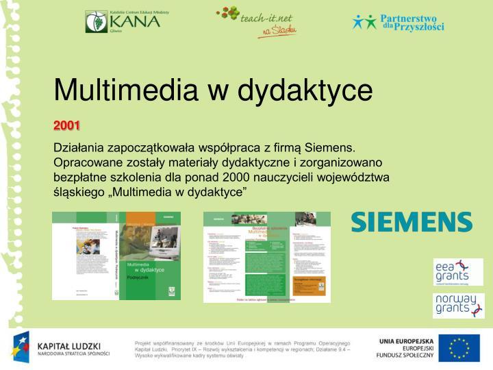 Multimedia w dydaktyce