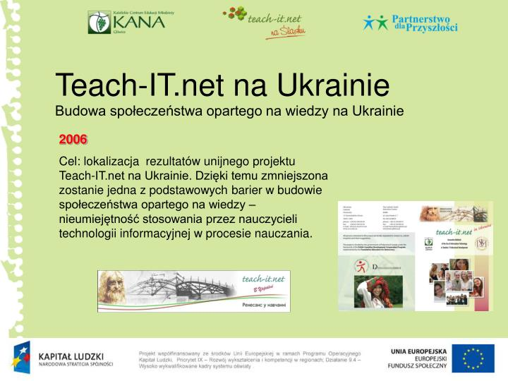 Teach-IT.net na Ukrainie