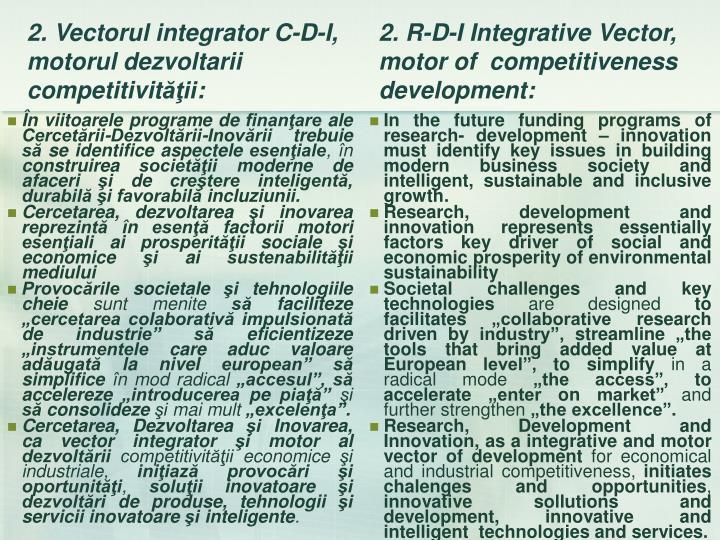 În viitoarele programe de finanţare ale Cercetării-Dezvoltării-Inovării trebuie să se identifice aspectele esenţiale