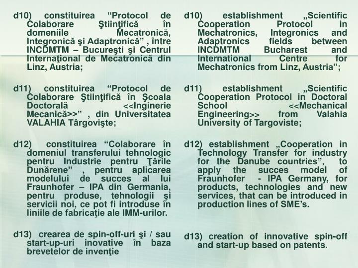 d10) constituirea