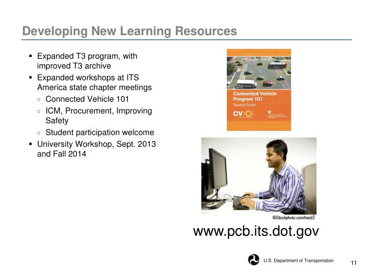 Developing New Learning Resources