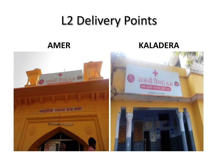 L2 Delivery Points