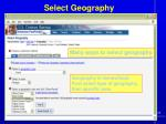 select geography