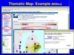 thematic map example m08xx