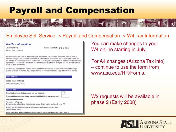 Payroll and Compensation