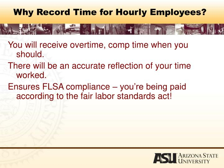 Why Record Time for Hourly Employees?