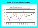 africa is growing again