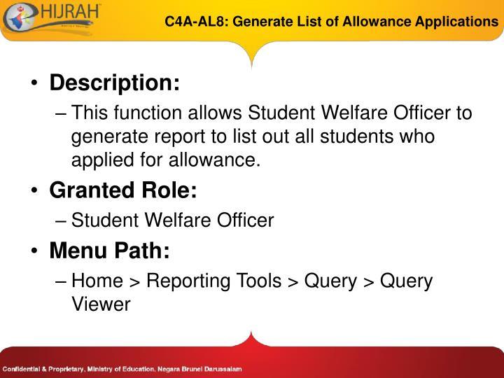 C4A-AL8:
