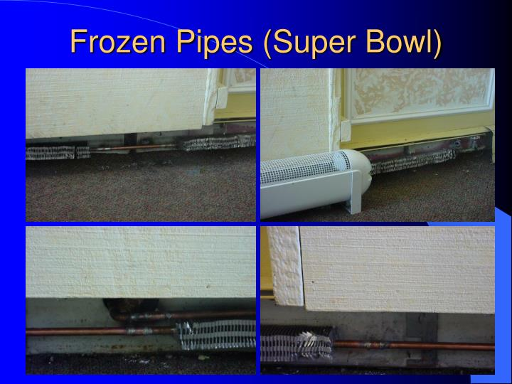 Frozen Pipes (Super Bowl)