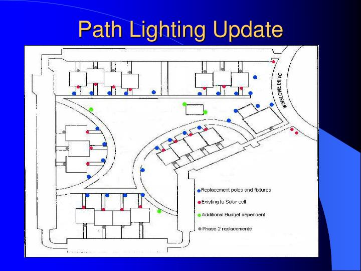 Path Lighting Update