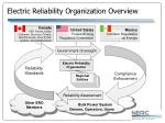 electric reliability organization overview