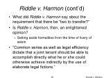 riddle v harmon cont d1