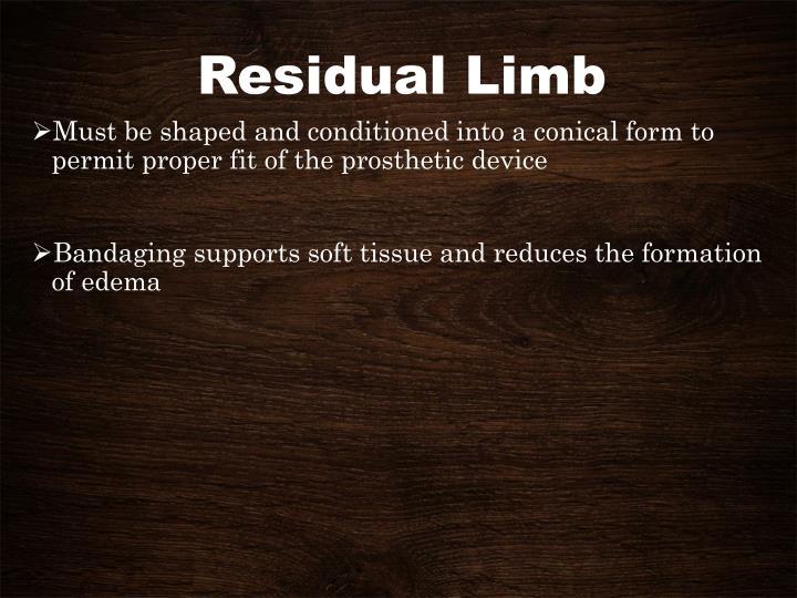 Residual Limb