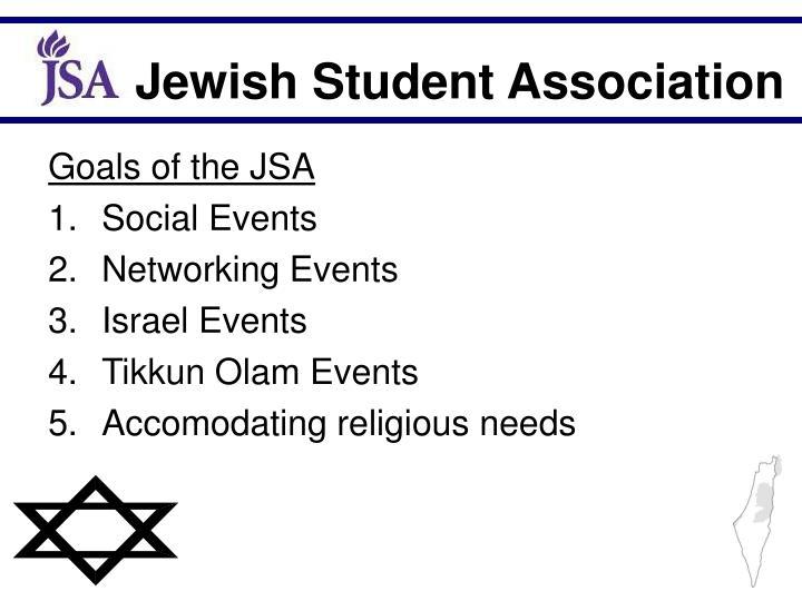 Goals of the JSA