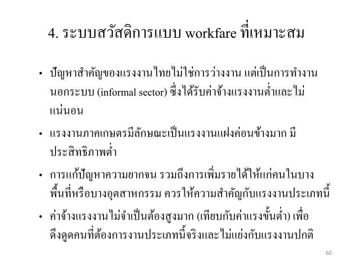 ปัญหาสำคัญของแรงงานไทยไม่ใช่การว่างงาน แต่เป็นการทำงานนอกระบบ