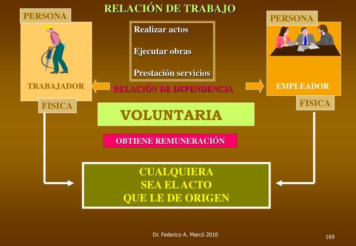 RELACIÓN DE TRABAJO
