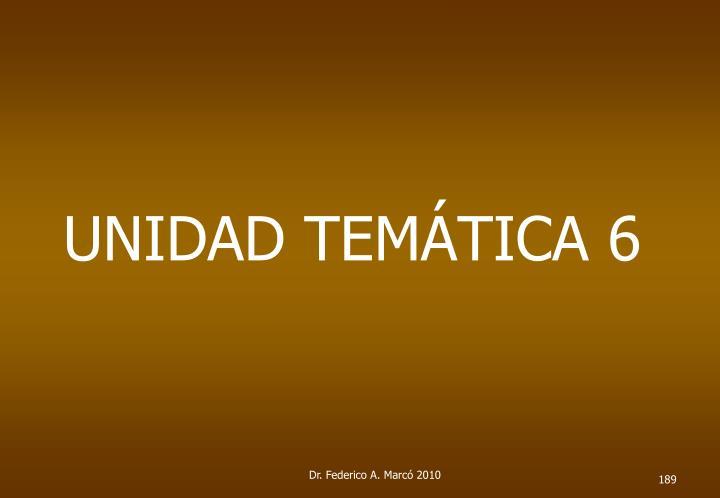 UNIDAD TEMÁTICA 6