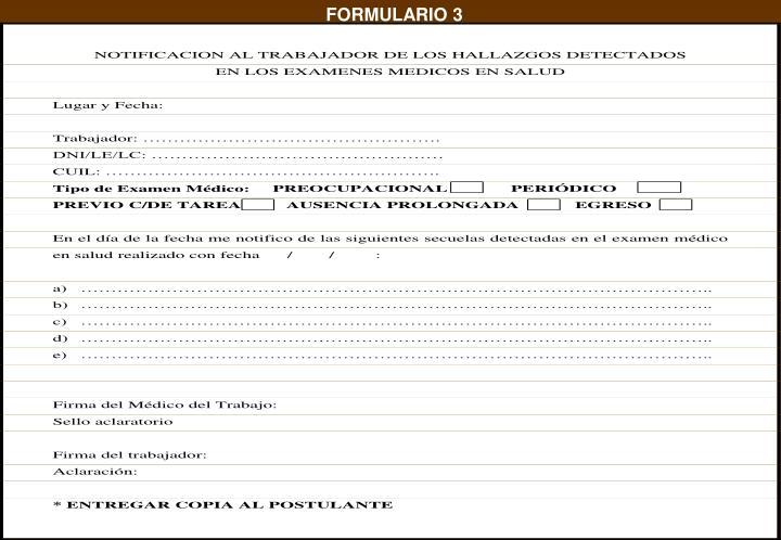 FORMULARIO 3