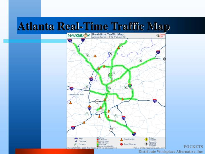Atlanta Real-Time Traffic Map