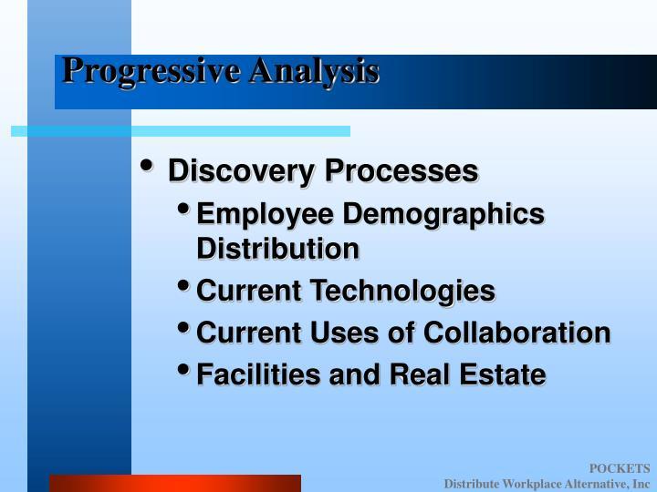 Progressive Analysis