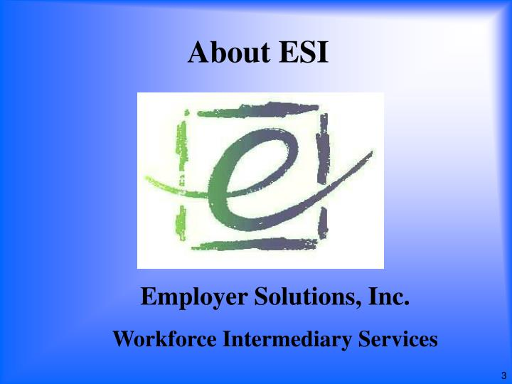 About esi