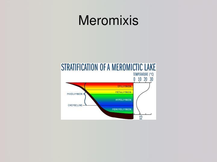 Meromixis