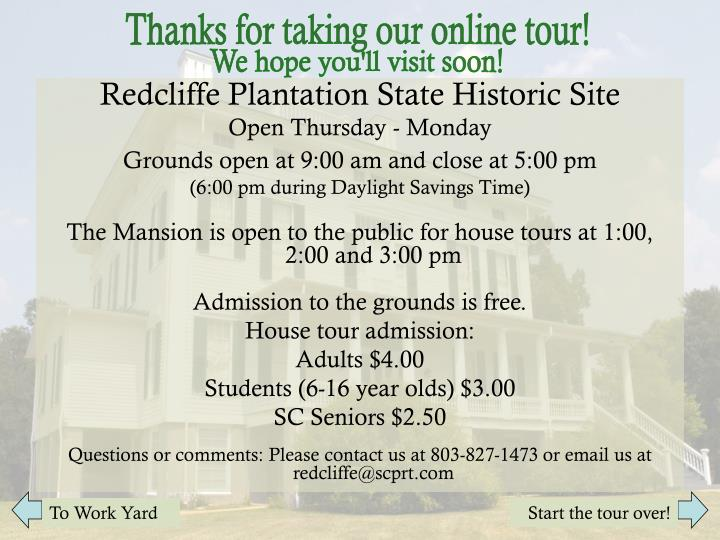 Thanks for taking our online tour!