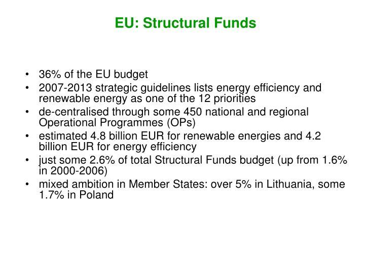 EU: Structural Funds