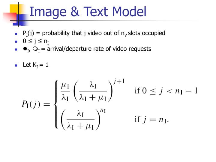 Image & Text Model