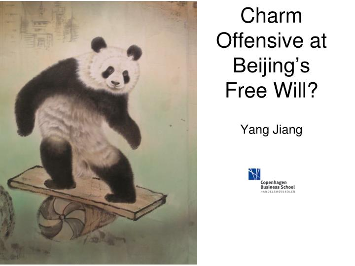 Charm offensive at beijing s free will