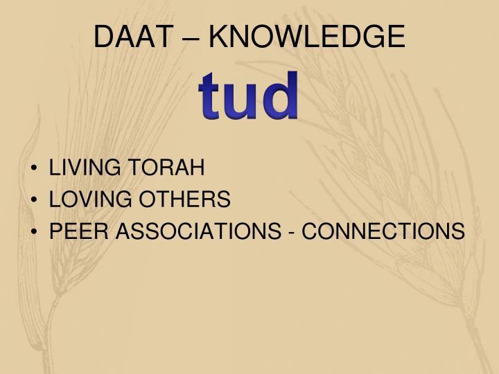 DAAT – KNOWLEDGE