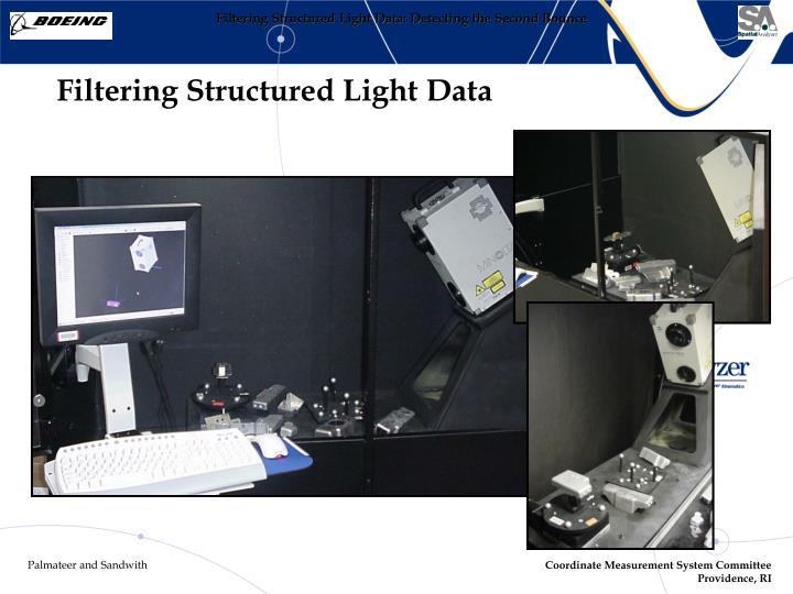 Filtering Structured Light Data