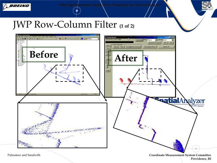 JWP Row-Column Filter