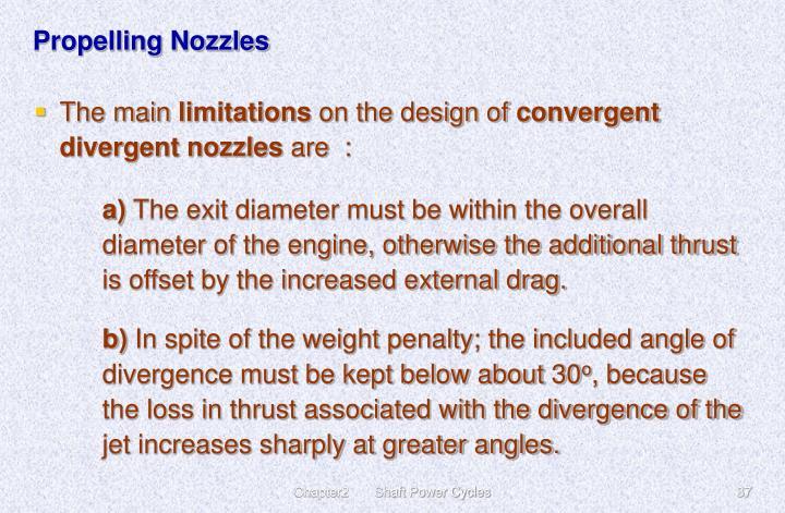 Propelling Nozzles