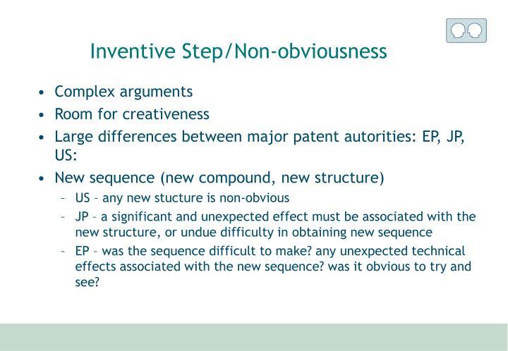 Inventive Step/Non-obviousness