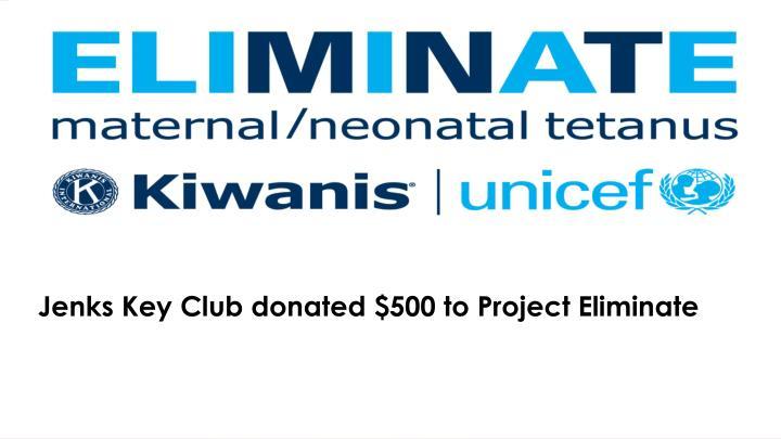 Key Club Fundraiser!