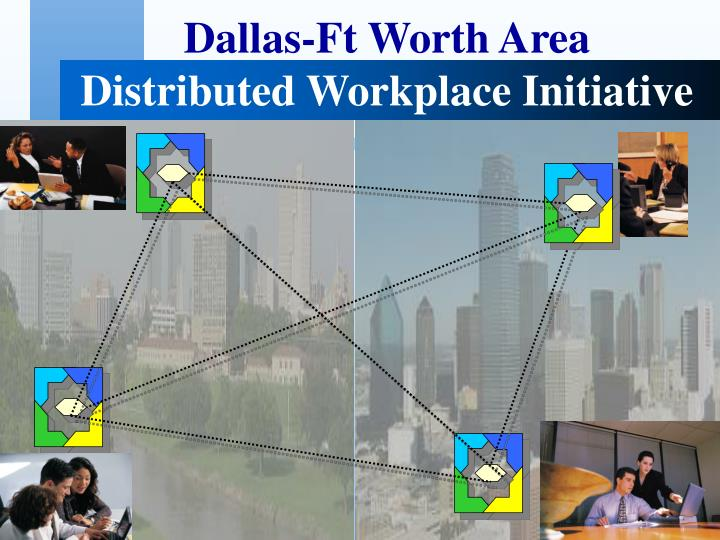 Dallas ft worth area distributed workplace initiative