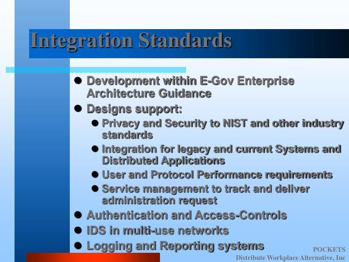 Integration Standards