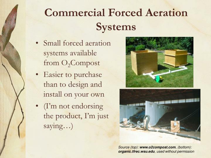 Commercial Forced Aeration Systems