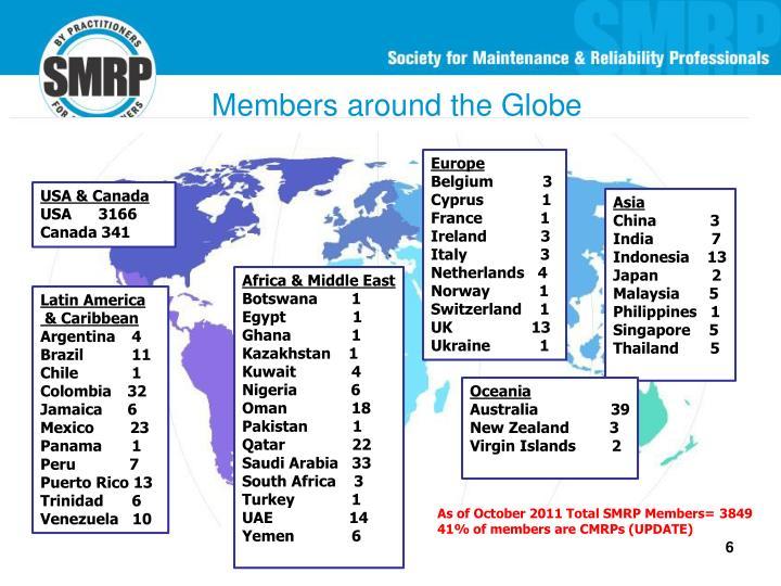 Members around the Globe