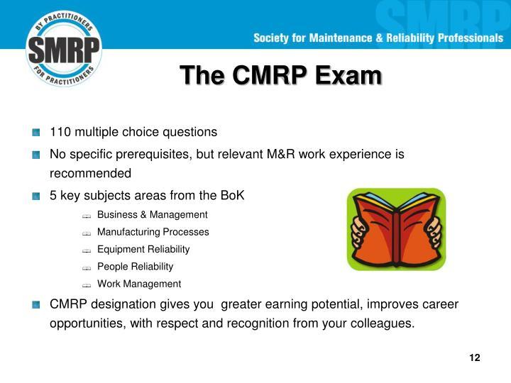 The CMRP Exam