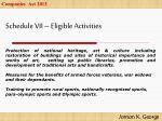 schedule vii eligible activities2