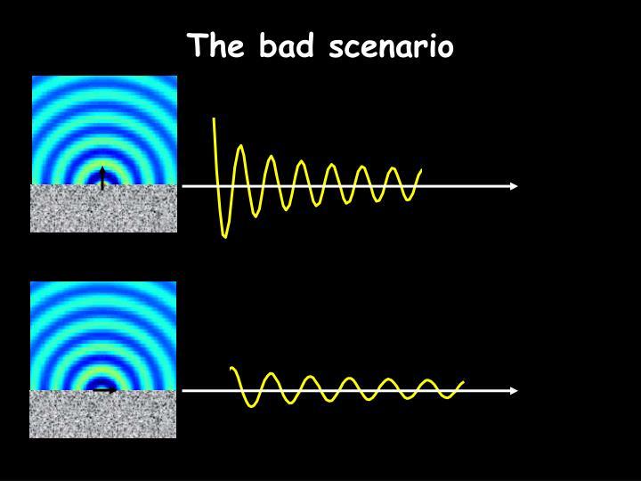 The bad scenario